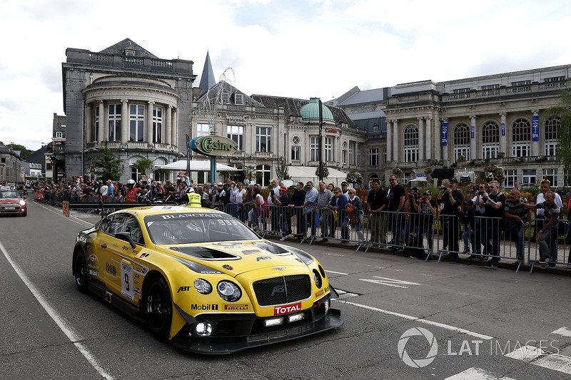 #9 Bentley Team ABT Bentley Continental GT3: Nico Verdonck, Christer Jöns, Jordan Pepper