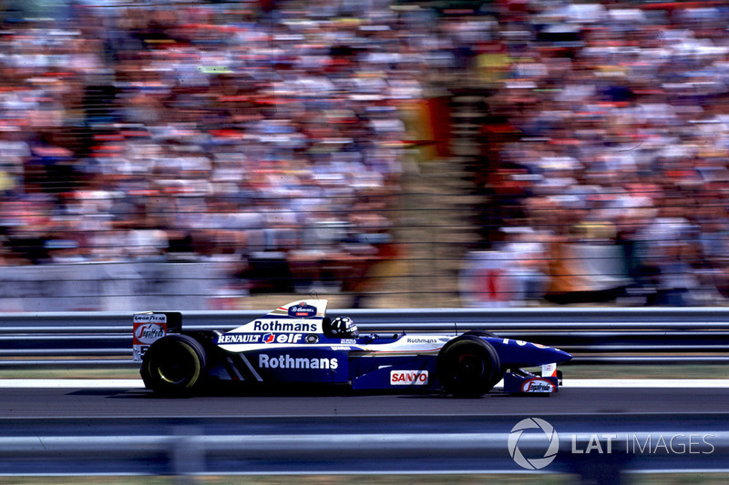 1995 Damon Hill, Williams