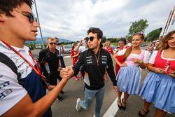 Lance Stroll, Williams en Sergio Perez, Sahara Force India