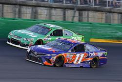 Denny Hamlin, Joe Gibbs Racing Toyota, Jeffrey Earnhardt, Circle Sport – The Motorsports Group Chevr