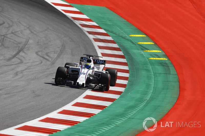 14. Felipe Massa, Williams FW40