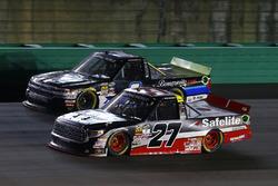 Ben Rhodes, ThorSport Racing Toyota y Jordan Anderson, Rick Ware Motorsports Chevrolet