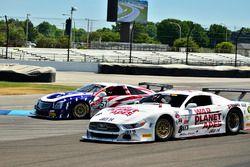 #8 TA Ford Mustang, Tomy Drissi, Tony Ave Racing, #57 TA Cadillac CTSV, David Pintaric, Kryderacing