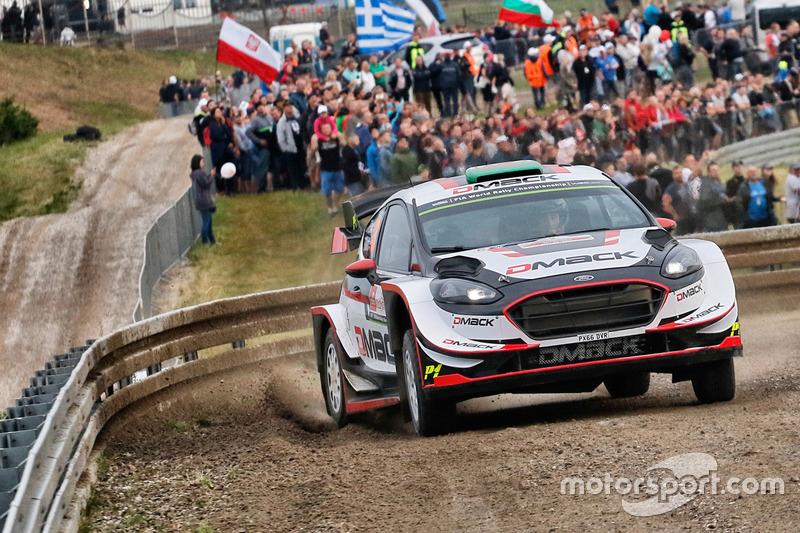 Элфин Эванс и Дэниэл Бэрритт, Ford Fiesta WRC