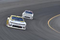 Justin Allgaier, JR Motorsports Chevrolet, Tyler Reddick, Chip Ganassi Racing Chevrolet