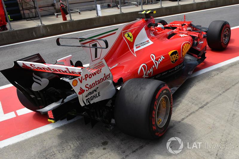 6. Kimi Räikkönen, Ferrari SF70H