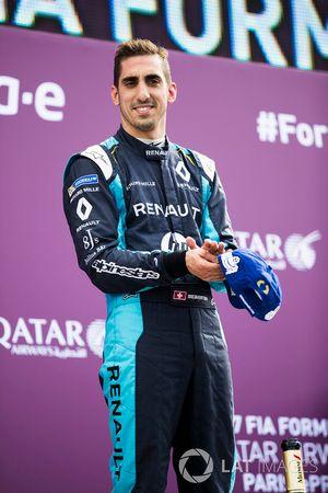 Podium: Sébastien Buemi, Renault e.Dams