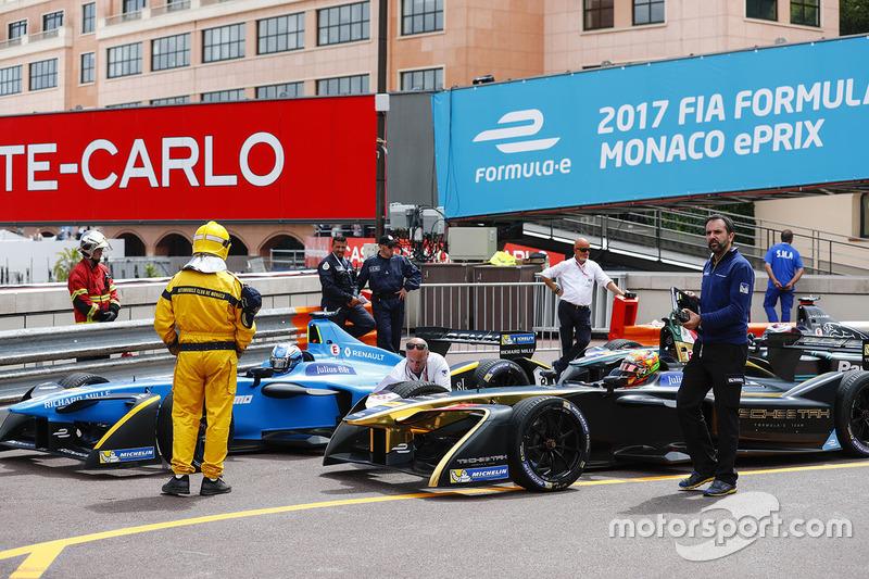 Nicolas Prost, Renault e.Dams, Esteban Gutiérrez, Techeetah