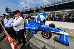 Tony Kanaan, Chip Ganassi Racing Honda, Chip Ganassi, Cary Agajanian