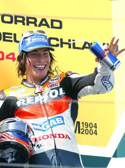 Podium: third place Nicky Hayden, Repsol Honda Team