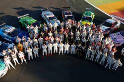 Motorsport Fesitval con todos los pilotos