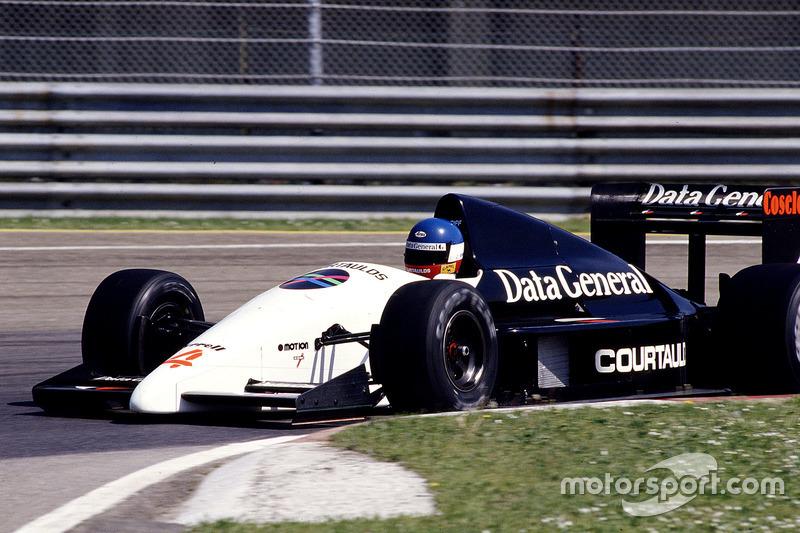 #4: Philippe Streiff, Tyrrell DG016, Ford