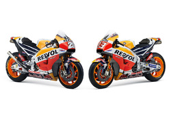 Bikes of Dani Pedrosa, Repsol Honda Team and Marc Marquez, Repsol Honda Team