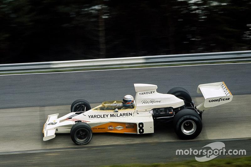 O retorno do laranja da McLaren ao pódio