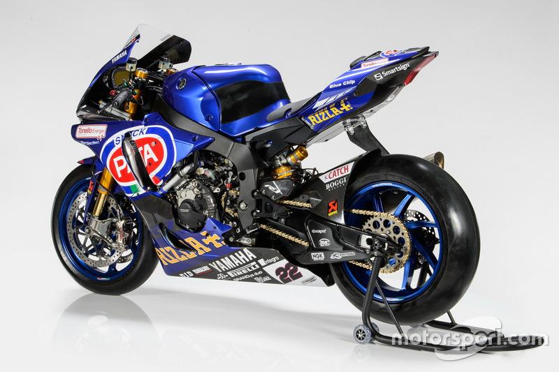 La moto di Alex Lowes, Pata Yamaha Racing