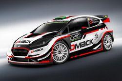 Элфин Эванс и Дэниэл Бэрритт, DMACK World Rally Team, Ford Fiesta WRC