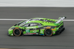 #61 GRT Grasser Racing Team Lamborghini Huracan GT3: Christian Engelhart, Rolf Ineichen
