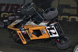 Kyle Larson flip
