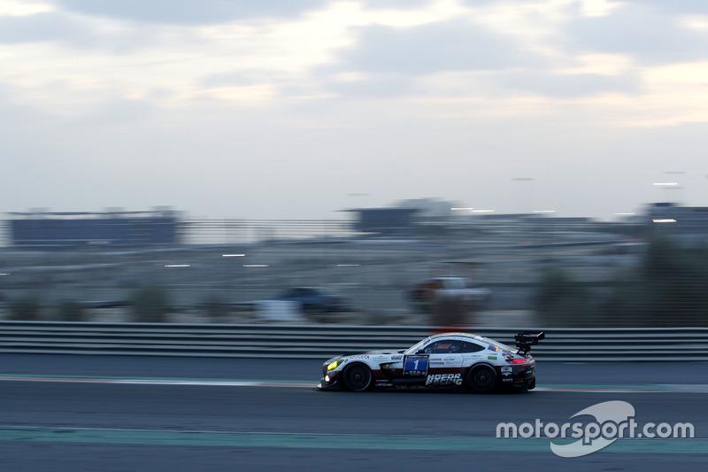 #1 Hofor-Racing, Mercedes AMG GT3: Michael Kroll, Chantal Kroll, Roland Eggimann, Kenneth Heyer, Chr