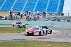 #23 MP1A Audi R8 GT3 LMS driven by Walt Bowlin, Larry Pegram, & David Ostella of M1GT Racing