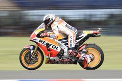 Marc Marquez, Repsol Honda Team effectue un essai de départ