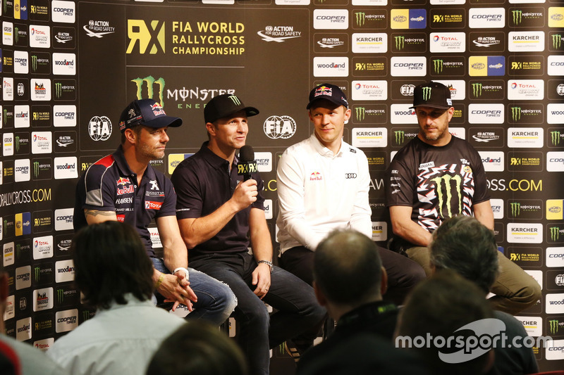 Sebastien Loeb, Team Peugeot-Hansen, Peugeot 208 WRX, Petter Solberg, PSRX Volkswagen Sweden, VW Pol