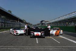 Andreas Seidl, Team Principal Porsche Team, Fritz Enzinger, Vice President LMP1 Porsche Team during