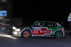 Alessandro Perico, Mauro Turati, Skoda Fabia R5, P.A. Racing