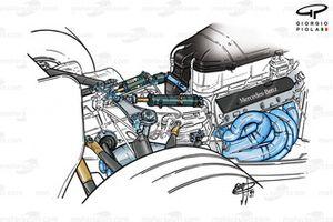 McLaren MP4-14 1999 rear-end installation