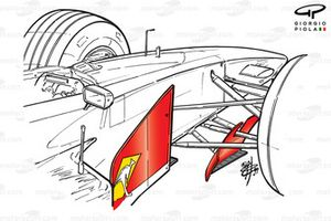 Williams FW21 bargeboards