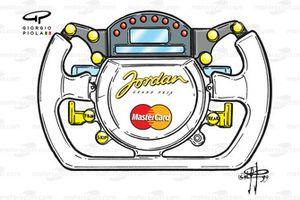 Jordan 199 1999 steering wheel