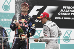 Il terzo classificato Nico Rosberg, Mercedes AMG F1