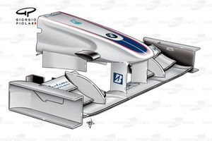 BMW Sauber F1.09 2009 front wing and nose