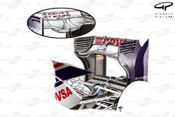 DUPLICATE: WIlliams FW34 low downforce rear wing