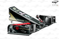 Lotus E22 nose, test part for 2015