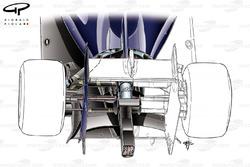 DUPLICATA : L'aileron de support de la Williams FW36