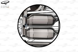 Les bloqueurs de suspension arrière de la McLaren MP4-29
