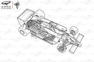 Vue d'ensemble détaillée de la Lotus 79