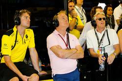Jack Clarke, Driver en Physio met Jonathan Palmer en Sir Peter Ogden