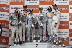 Podium: 1. #26 BWT Mücke Motorsport, Mercedes-AMG GT3: Sebastian Asch, Lucas Auer, 2. #17 KÜS TEAM75