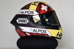 Helm von Thomas Luthi, CarXpert Interwetten