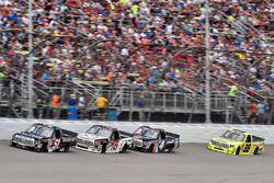 Kyle Busch, Kyle Busch Motorsports Toyota, Ryan Truex, Hattori Racing Enterprises Toyota, Christophe
