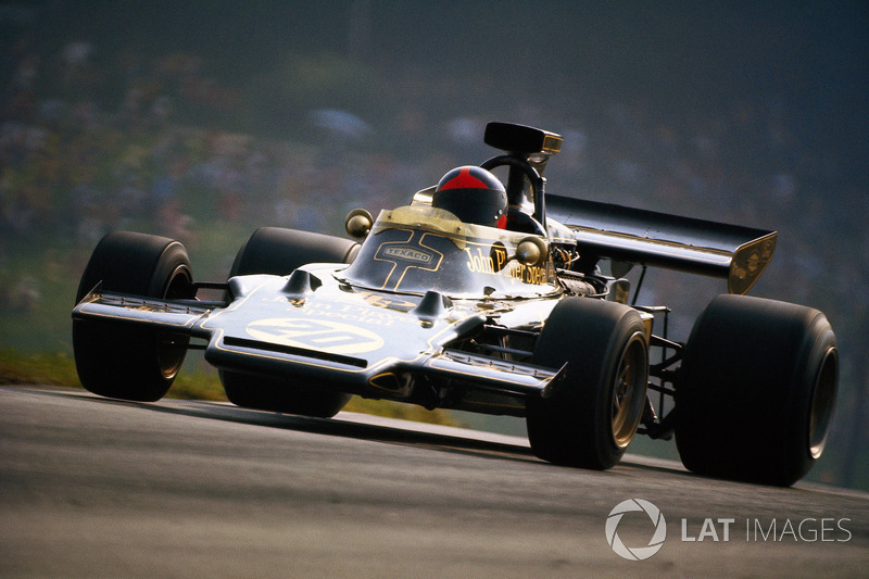 1972 - Emerson Fittipaldi, Lotus 72