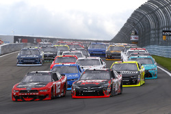 Start: Joey Logano, Team Penske Ford, Kyle Busch, Joe Gibbs Racing Toyota