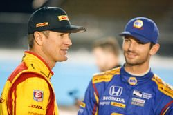 Ryan Hunter-Reay, Andretti Autosport, Honda; Alexander Rossi, Herta - Andretti Autosport, Honda