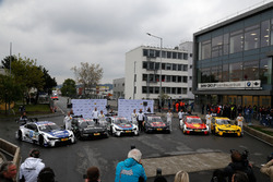 Maxime Martin, BMW Team RBM; Bruno Spengler, BMW Team RBM; Tom Blomqvist, BMW Team RBM; Marco Wittmann, BMW Team RMG; Augusto Farfus, BMW Team RMG; Timo Glock, BMW Team RMG