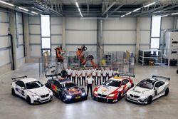 BMW M235i R, BMW M4 DTM, Nico Menzel, Dirk Adorf, Marco Wittmann, BMW Team RMG, Antonio Felix da Cos