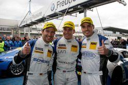 Yarış galibi #5 Phoenix Racing, Audi R8 LMS: Mike Rockenfeller, Nicolay Møller Madsen, Dennis Busch