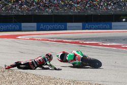 Chute de Sam Lowes, Aprilia Racing Team Gresini