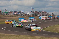 Juan Marcos Angelini, UR Racing Dodge, Gaston Mazzacane, Coiro Dole Racing Chevrolet, Nicolas Bonell